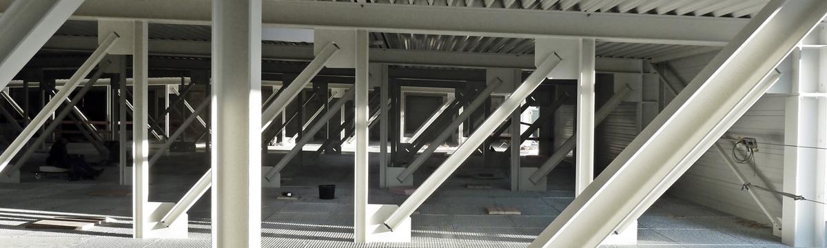 Neubau eines Gebäudes für pharmazeutische Produktion