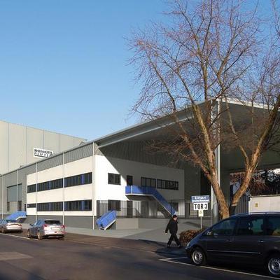 Neubau Pumpenprüfstand, Wiesbaden (Nordwestansicht) Animation: Architekturbüro Torsten Zahn