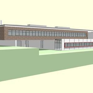 Erweiterungsbau der integrierten Gesamtschule Sprendlingen
