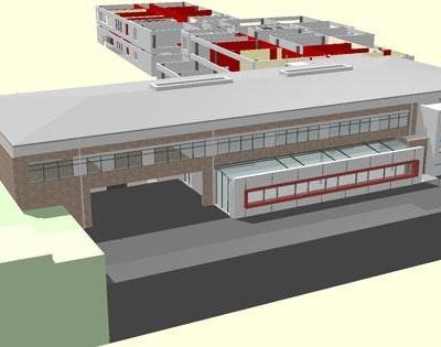 Erweiterungsbau der integrierten Gesamtschule Sprendlingen (Förster & Förster Architekten)