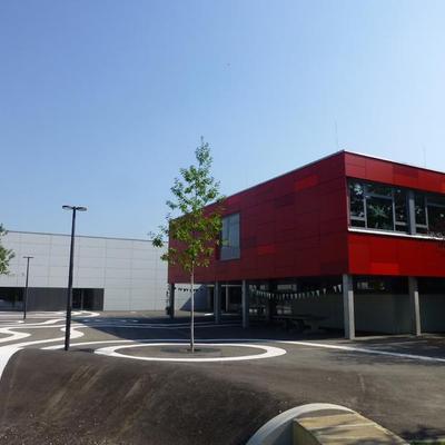 Mehrzweckhalle, Brüder-Grimm-Schule, Ingelheim (Foto: IGT)