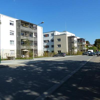 """Mehrfamilienhäuser """"Schwedenschanze"""" Ginsheim-Gustavsburg - (Foto IGT)"""