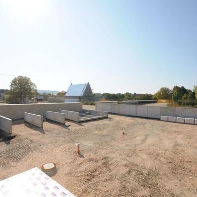 Neubau Friedhof mit Aussegnungshalle, Ingelheim Foto: Christian Köhler, Bayer & Strobel
